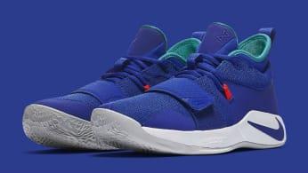 Nike PG 2.5 Fortnite Racer Blue Release Date BQ8452-401 Pair