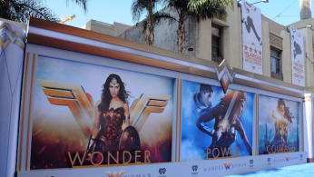 the World Premiere of Warner Bros. Pictures' 'Wonder Woman'