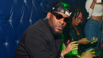 R Kelly attends a Party at Amora Lounge.