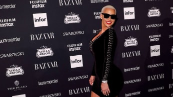 amber rose icons party