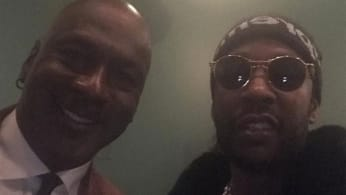 2 Chainz and Michael Jordan