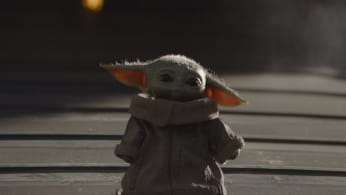 Baby Yoda, aka The Child from the Star Wars franchise's Disney+ series 'The Mandalorian'