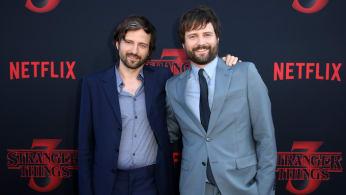 """Matt Duffer and Ross Duffer attend the """"Stranger Things"""" Season 3 World Premiere."""