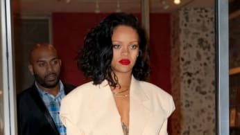 Rihanna goes to dinner at Kappo Masa
