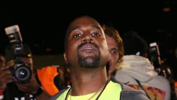 "Kanye West attends the Nas ""Nasir"" Album Listening Session."