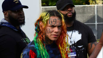 6IX9INE performs at Made in America Music Festival