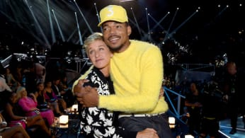 Chance the Rapper and Ellen DeGeneres