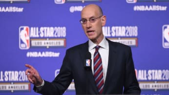 This is a picture of Adam Silver.