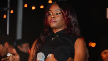 Azealia Banks performs onstage at the OHWOW & HTC