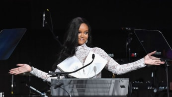 This is a picture of Rihanna.