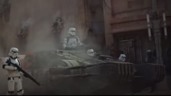 Trailer for Star Wars Rogue One.