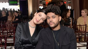 Bella and The Weeknd Together again