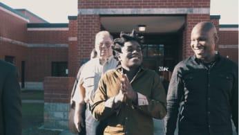 This is Kodak Black leaving jail.