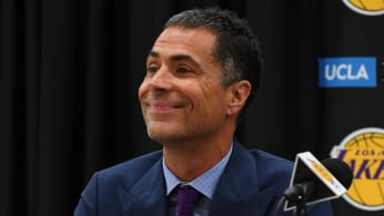 General manager Rob Pelinka of the Los Angeles Lakers.