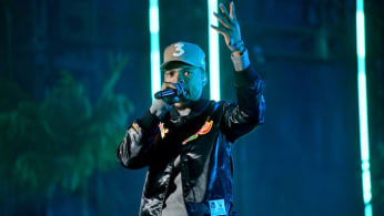 Chance the Rapper performs at Rolling Loud.