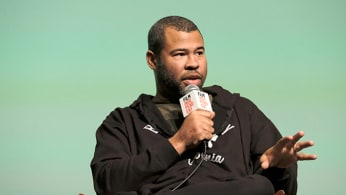 Jordan Peele speaks during Film Independent Forum.