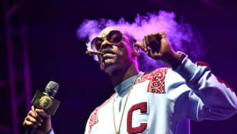 This is a picture of Snoop Dogg.