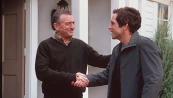 Ben Stiller (R) 'Greg Focker' and Robert De Niro (L) 'Jack Byrnes' 'Meet the Parents.'