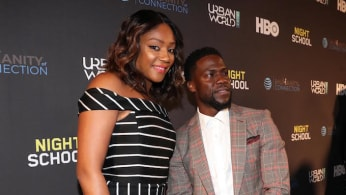 Tiffany Haddish and Kevin Hart attend the 2018 Urbanworld Film Festival.