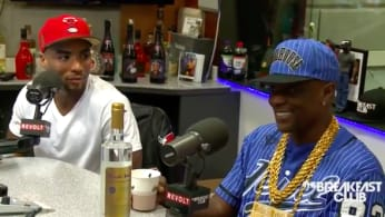 This is Boosie Badazz on the Breakfast Club in October 2016.