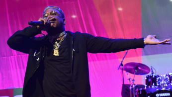 Cyhi the Prynce performs onstage during 2018 BET Experience Main Stage