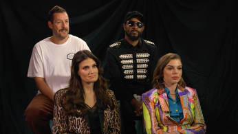 The cast of 'Uncut Gems' talk during TIFF 2019