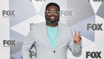 Actor Lil Rel Howery attends the 2018 Fox Network Upfront.