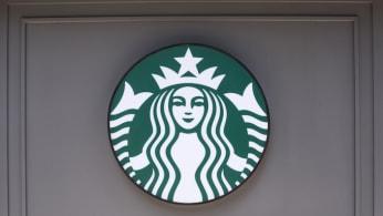 American multinational coffee chain Starbucks logo