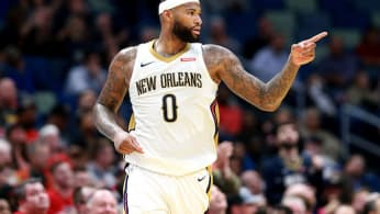 DeMarcus Cousins #0 of the New Orleans Pelicans.