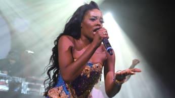Azealia Banks performs during a recent concert.