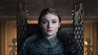 Sophie Turner in promotional still from HBO series Game Of Thrones