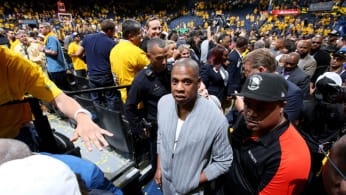Jay Z at Game One of the 2017 NBA Finals