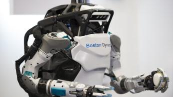 A Boston Dynamics robot.