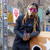 Lil Wayne attends the AE x Young Money Collab