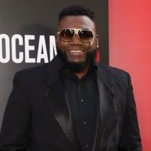 "David Ortiz attends the world premiere of ""Ocean's 8."""