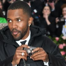 Frank Ocean attends The 2019 Met Gala Celebrating Camp.