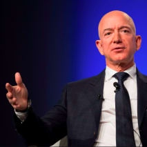 Amazon and Blue Origin founder Jeff Bezos