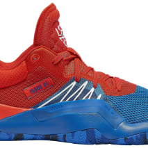 Adidas D.O.N. Issue 1 Blue Red White Release Date EF2400 Profile
