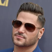 Ronnie Ortiz-Magro attends the 2018 MTV Movie And TV Awards.