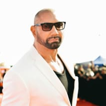 Dave Bautista attends the 2019 MTV Movie and TV Awards