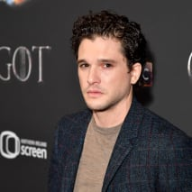 Kit Harrington arrives at the Game of Thrones Season Finale Premier.