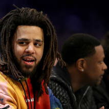 This is a photo of J. Cole