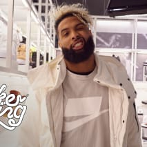 Odell Beckham Jr. Goes Sneaker Shopping With Complex   Sneaker Shopping