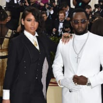 Cassie Ventura and Sean 'Diddy' Combs.