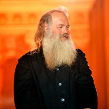 This is a picture of Rick Rubin.