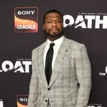 Curtis '50 Cent' Jackson arrives at Sony Crackle's 'The Oath' Season 2