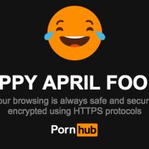 pornhub april fools prank