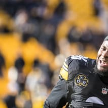 Le'Veon Bell #26 of the Pittsburgh Steelers.