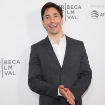 """Justin Long attends the """"Safe Spaces"""" screening during 2019 Tribeca Film Festival."""