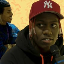 Racks Links Up with Lil Yachty at the NYC Pre-Release of his BAPE Collab Collection | Get in Line